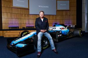 telecoms entrepreneur signs f1 deal with williams