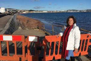 slipway damaged during storm callum will be repaired
