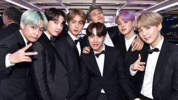 BTS: K-pop idols make first historic Grammy appearance