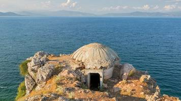 the albanian bunkers built in the midst of the cold war