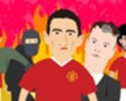 video: angel di maria's manchester united hell