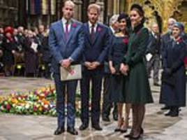 how prince william hinted of 'disagreements' between he and kate and harry and meghan