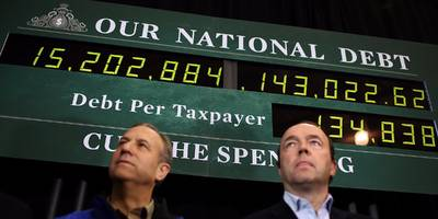 the us national debt just topped $22 trillion for the first time in history