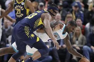 Pacers use fast start, closing flurry to beat Hornets 99-90