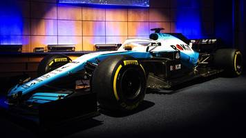 new colours for new williams f1 car