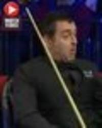 ronnie o'sullivan makes unbelievable shot at welsh open – but fans are fuming