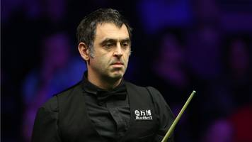 welsh open: ronnie o'sullivan through to the second round