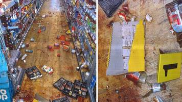 hove co-op supermarket brawlers sentenced