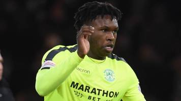 hibernian's johnson given two-game ban after unsuccessful appeal