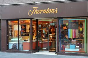 gloucester city centre is about to lose its thornton's chocolate shop