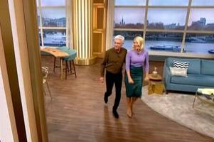 holly willoughby and phillip schofield shock this morning fans by walking off after series of gaffes