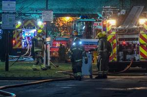 man, 43, detained after tamworth hospital fire on suspicion of arson - what we know the morning after