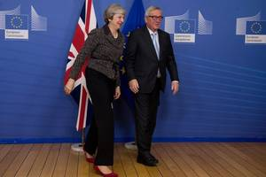 Brexit talks are at a crucial stage, Theresa May will tell MPs later when she updates them on the negotiations.