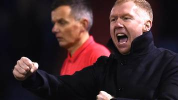 Oldham Athletic 4-1 Yeovil Town: Paul Scholes wins first game as manager