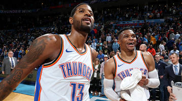 Paul George's Hot Streak Has the Thunder Looking Like a Legit Threat to the Warriors