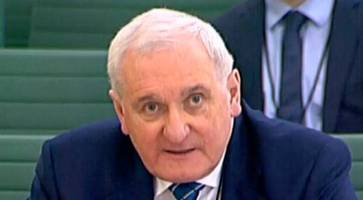 Brexit impasse: Northern Ireland not same as rest of UK, says Bertie Ahern - 'Belfast not same as Finchley'