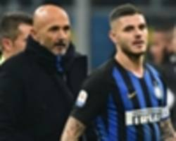 icardi chose to miss inter's europa league clash, says spalletti