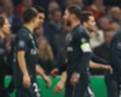 var controversy mars real madrid victory over ajax