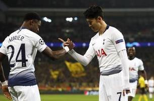 Tottenham beats Dortmund 3-0 in Champions League 1st leg