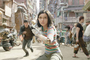 'alita: battle angel' film review: james cameron's long-gestating anime adaptation winds up a glossy muddle