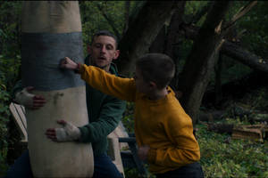 'donnybrook' film review: jamie bell's miserabilist boxing drama has no uppercut