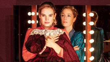 Lily James in All About Eve: No more Goody One-Shoe