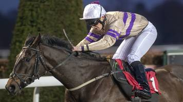 equine flu: aptly-named clearance wins at kempton park as racing resumes