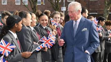 prince charles visits kensington school affected by grenfell