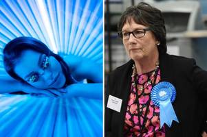 derbyshire mp calls for sunbeds to be banned across the uk