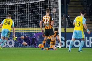 stewart missed, ridgewell rusty and falling crowds, the talking points from hull city's 2-2 draw with rotherham
