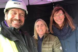 nick knowles' urgent appeal to cornwall as diy sos: the big build gets underway