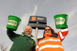 british steel staff to raise funds for macmillan cancer support after charity chosen as new community partner