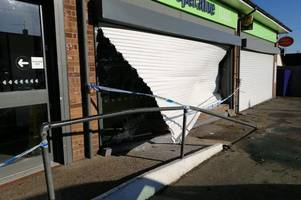 why thieves who ripped an atm from a shop in brentwood won't be able to spend the cash they stole