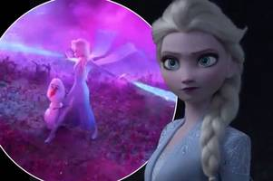 frozen 2 trailer drops - and elsa looks very different