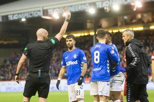 if rangers striker alfredo morelos made tackles like alan power the whole world would call for ban - hotline