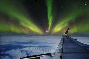 you can now see the northern lights from the sky on a special flight taking off from edinburgh airport