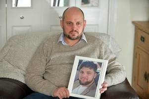'it's hard to face reality every day', says dad whose talented rugby playing son killed himself