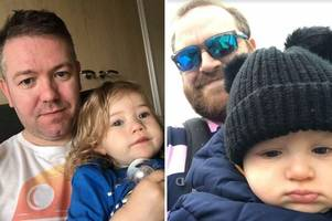 the uncomfortable, unhygienic and dangerous places these dads have had to change their children's nappies
