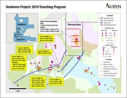Auryn Resumes Trenching at Sombrero Copper-Gold Project