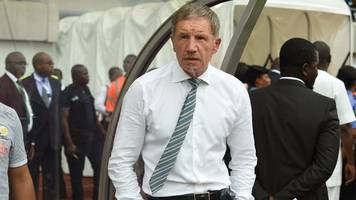 South Africa coach Stuart Baxter organises league games to be delayed