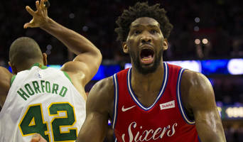 watch: joel embiid slams officials after loss vs. celtics, says 'the referees f------ suck'