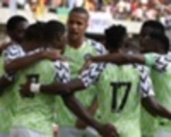 EXTRA TIME: How Nigeria players celebrated Valentine's Day