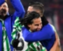 video: lainez scores first betis goal in stoppage time to snatch draw in europa league