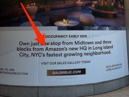 amazon isn't coming to new york city — and it's a kick in the face for the people who bet big on property in queens (amzn)