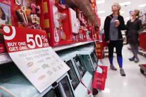 'unbelievable': retail sales collapsed by the most since 2009 in december
