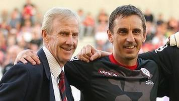 Eric Harrison: Former Manchester United youth coach and Class of '92 mentor dies aged 81
