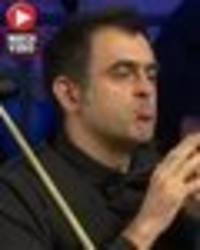 ronnie o'sullivan applauds opponent's brilliant shot before crashing out of welsh open