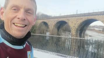 snow, mild panic attacks & tea: why is this burnley fan running to every away premier league game?