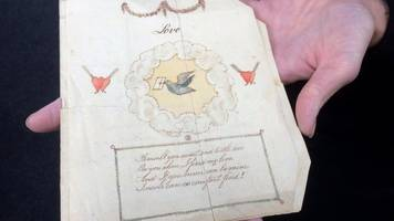 'World's oldest' Valentine card sold in Derbyshire