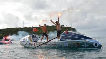rowing grandads neil young and peter ketley beat atlantic record